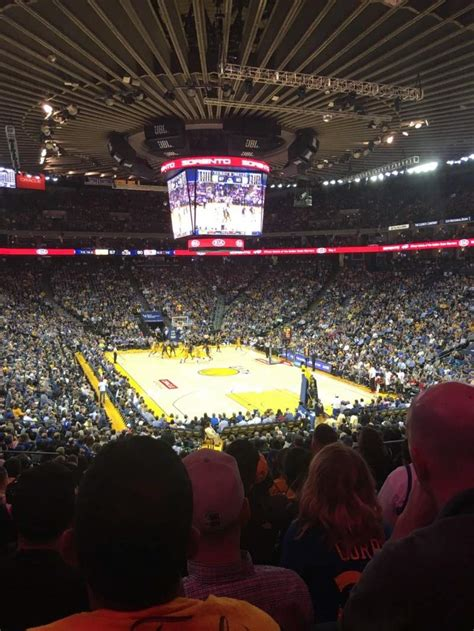 oracle arena section  row  seat  golden state warriors  atlanta hawks shared