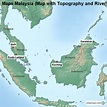 Map Of Rivers Malaysia - Maps of the World