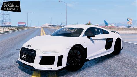 Audi R8 Modification by Audi R8 V10 Abt Grand Theft Auto V Mgva Modification