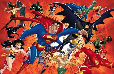 Justice League Animated Wallpaper - dc comics justice league superheroes comics wallpaper