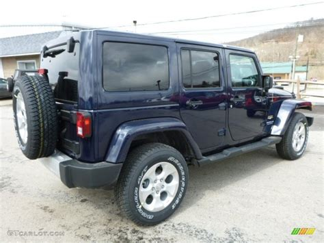 2013 jeep wrangler colors 2013 true blue pearl jeep wrangler unlimited 4x4