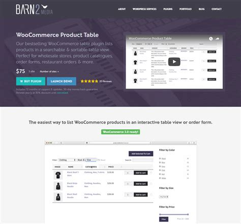Woocommerce Plugin woocommerce product table plugin  review 720 x 669 · png