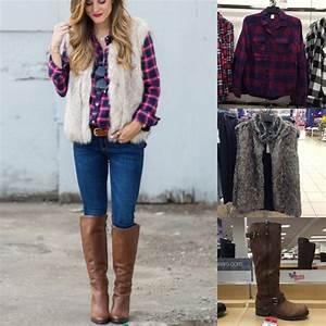 Fall Outfit Pinspiration: Brighton Keller's Plaid Shirt