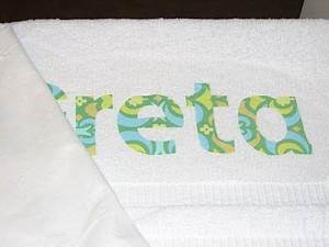 best 25 iron on letters ideas on pinterest iron on With iron on letters for towels