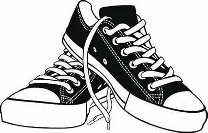 Shoes Shoe Pair Clip Clipart Vector Pencil