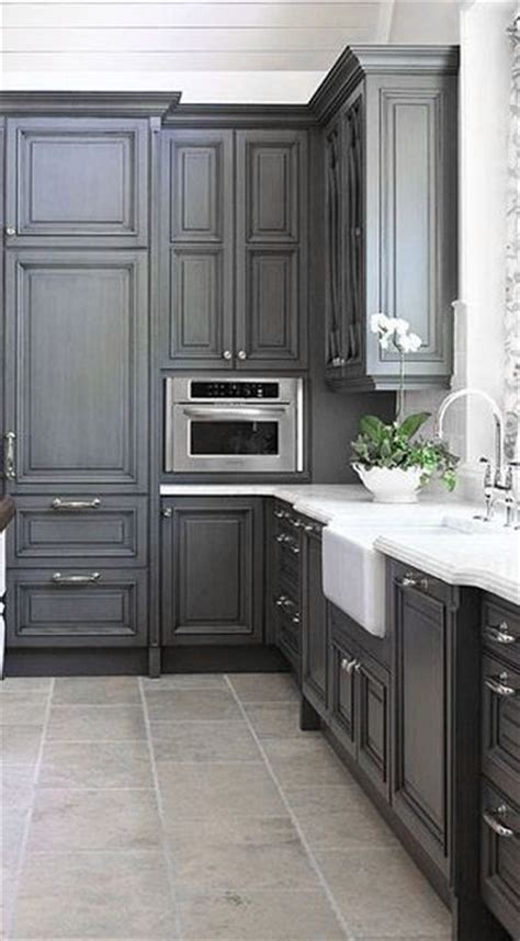 Dove Gray Home Decor ♅ Grey Kitchen  ♅ Dove Gray Home