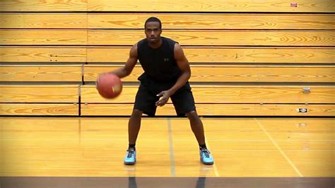 basketball dribble drill the stationary seesaw drill