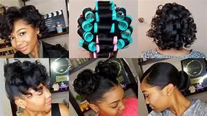 HOW TO ROLLER SET HAIR Roller Setting Tutorial 2017