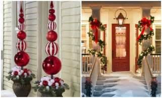 Outdoor Christmas Decorations Homemade