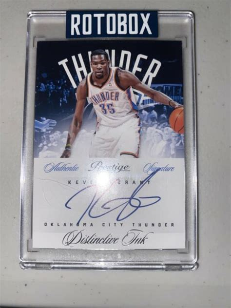 Roblox gift card generator is simple online utility tool by using you can create n number of. 2012-2013 Prestige Distinctive Ink - Kevin Durant Auto - Card #1 Rotobox   eBay