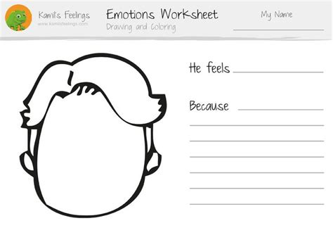 emotions worksheets for children and teaching emotions lesson plan emotion identification
