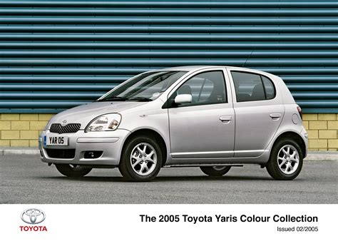 toyota yaris collection yaris colour collection 2003 2006 toyota uk media site