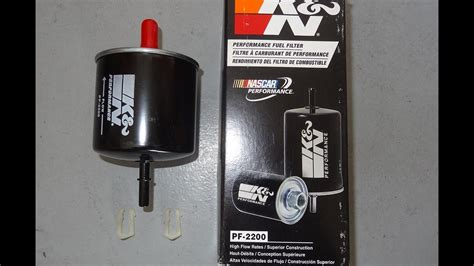 1996 Mustang Fuel Filter by Installing A 1979 1997 Mustang K N High Flow Fuel Filter