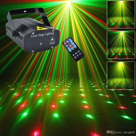 mini laser light mini portable ir remote r g meteor laser projector lights