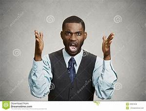 Angry Business Man Screaming Stock Photo - Image: 43001846