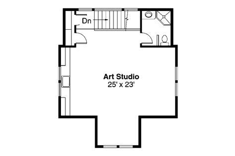 2 floor plans with garage craftsman house plans garage w studio 20 007