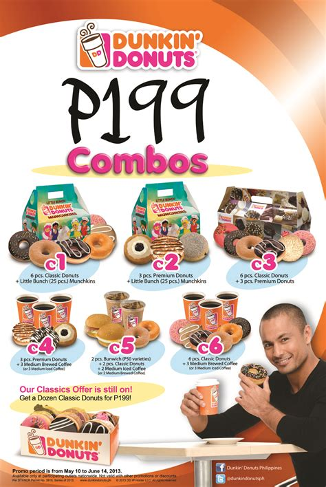 It was in the 1960s that its founder, william rosenberg, started the international franchising association which led for the philippines to have its flagship outlet in 1981. 199 Reasons to Love Dunkin' Donuts Combos - It's Me, Gracee