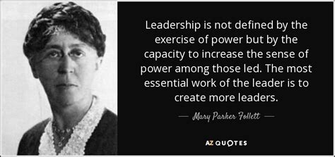 top  quotes  mary parker follett     quotes