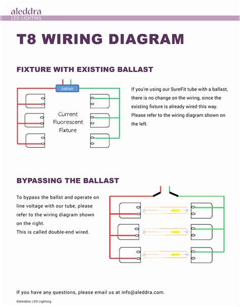 T12 To T8 Wiring Diagram by Convert T12 To T8 Wiring Diagram Sle