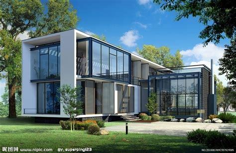 别墅效果图设计图__建筑设计_环境设计_设计图库_昵图网nipic.com