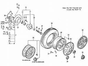 Front Axle  Knuckle Arm  Road Wheel  U0026 Tire