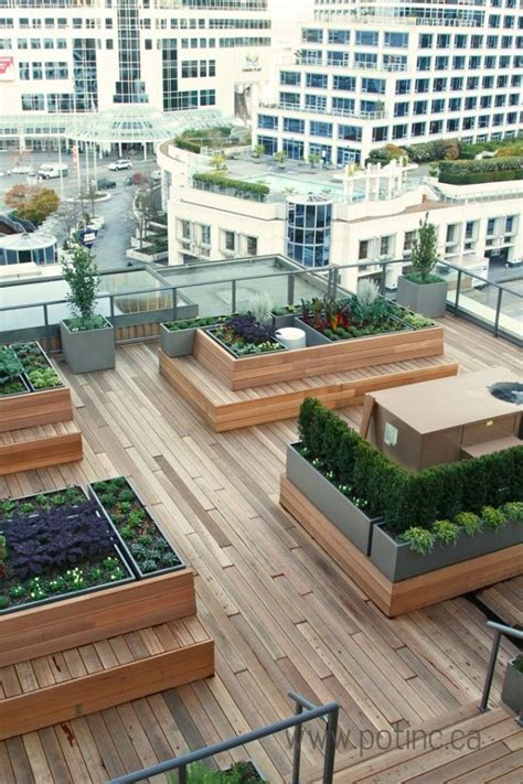 25 best ideas about rooftop gardens on in