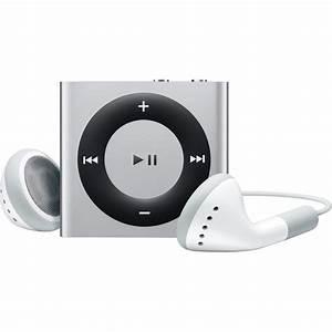 Apple 2GB iPod shuffle (Silver, 4th Generation) MC584LL/A B&H