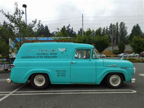 1959 Ford Panel Truck Ford Fr100 Panel Truck With Cammer