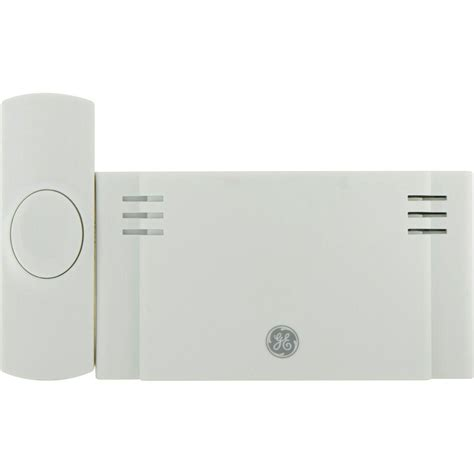ge wireless door chime ge wireless door chime battery operated 2 melody with 1
