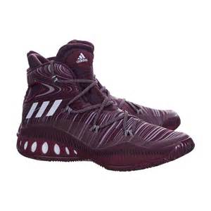 Maroon Adidas Basketball Shoes White Crazy Explosive