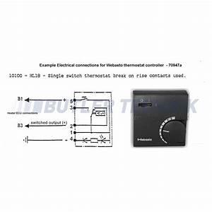 Webasto Heater Room Thermostat Temperature Control 12v 24v