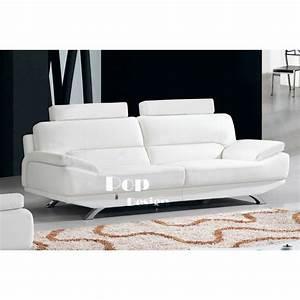 canapes 321 en cuir veritable aero pop designfr With canapé en cuir veritable