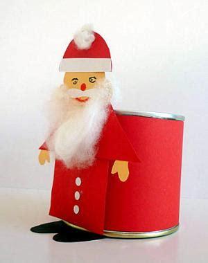 nikolaus basteln vorlage nikolaus stehend an dose weihnachten basteln meine enkel und ich