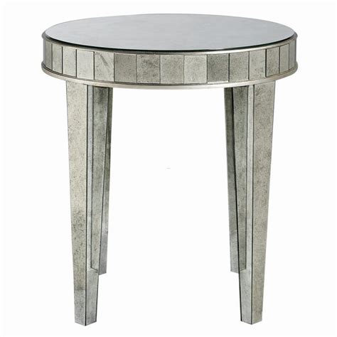how to decorate end tables how to decorate a mirrored side table interior home design