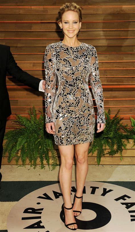 Jennifer Lawrence Oscars 2014 Vanity Fair Party In