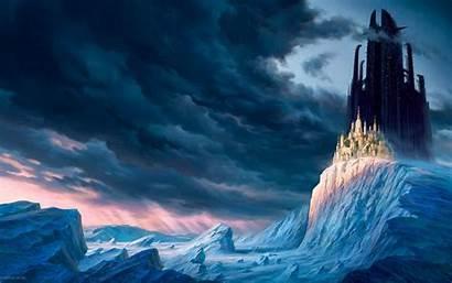 Fantasy Wallpapers Desktop Backgrounds Background Kingdom Pc