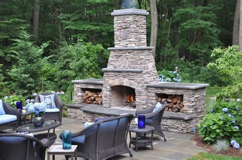 outside fireplace ideas fireplace stone and patio professions pavers cultured stone manalapan nj dickoatts