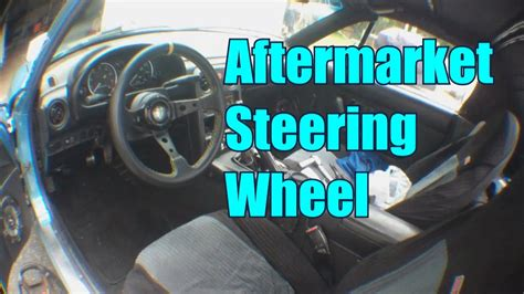 How To Install An Aftermarket Steering Wheel / Haggard