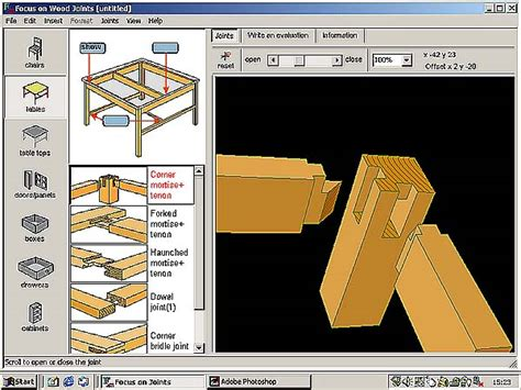 woodwork wood project design software  plans