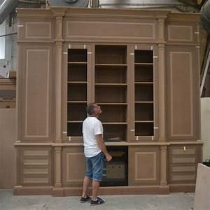 meuble bibliotheque sur mesure l39atelier du moulin de With votre meuble sur mesure