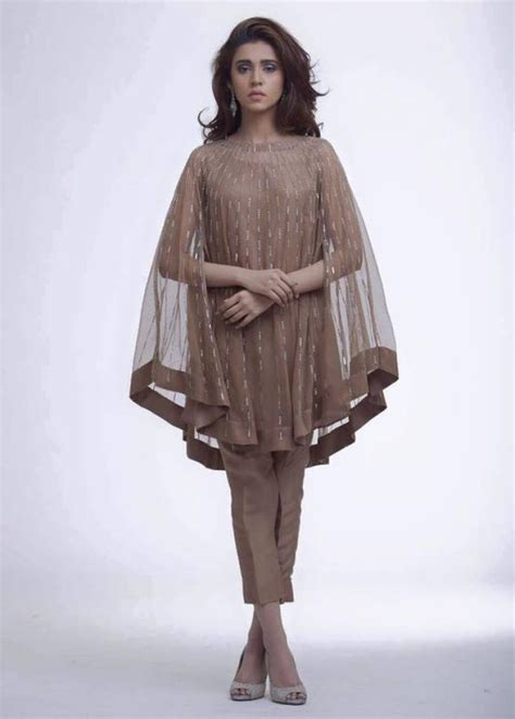 cape designs fancy cape kameez fashion looks for fashion lover
