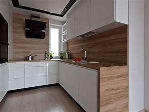 plan de travail cuisine 50 idees de materiaux et couleurs With plan de travail credence cuisine