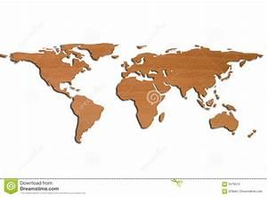 Weltkarte Bild Holz : weltkarte in 3d und im holz stockbilder bild 5079514 ~ Lateststills.com Haus und Dekorationen