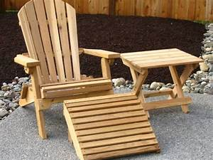 diy wood outdoor furniture landscaping gardening ideas With homemade lawn furniture