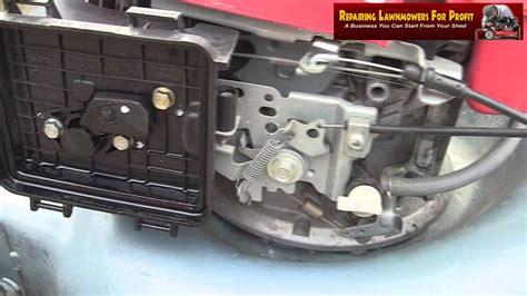 Repairing Lawnmowers For Profit Part Honda Izy Not