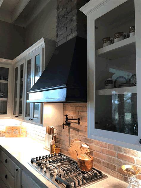 range hood  farmhouse kitchen texas lightsmith