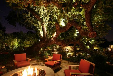 backyard getaways  landscape lighting