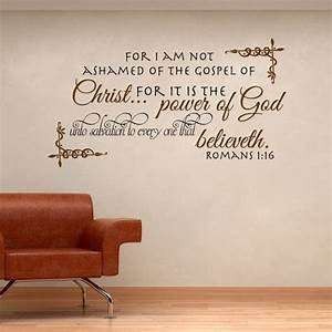 12 best wall art scriptures 50 images on pinterest With biblical wall decals ideas