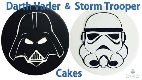 star wars template cake star wars vii cakes darth vader stormtrooper toppers
