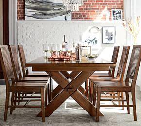Its seadrift finish adds an updated, casual look. Toscana Extending Pedestal Dining Table, Seadrift ...